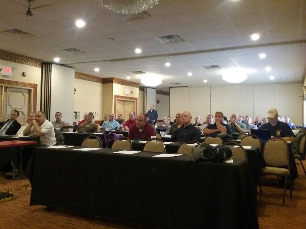 Delegates at the Uniformed Fire Officers Association (UFOA) Education Seminar