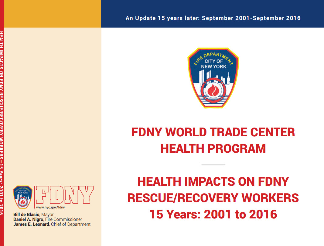 FDNY WTC Health Program Issues 15-Year Health Impact Assessment