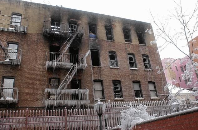 The infamous fire occurred at building on 236 E. 178th St. in the Bronx. Schwartz, Michael, Freelance
